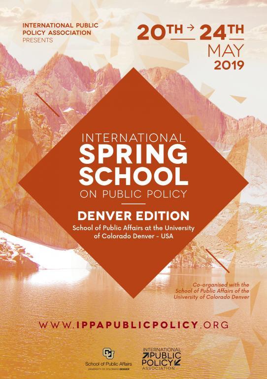 IPPA - International Spring School on Public Policy - Denver