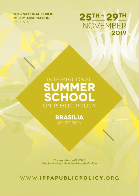 IPPA - IPPA-ENAP SUMMER SCHOOL - BRASILIA EDITION 2019